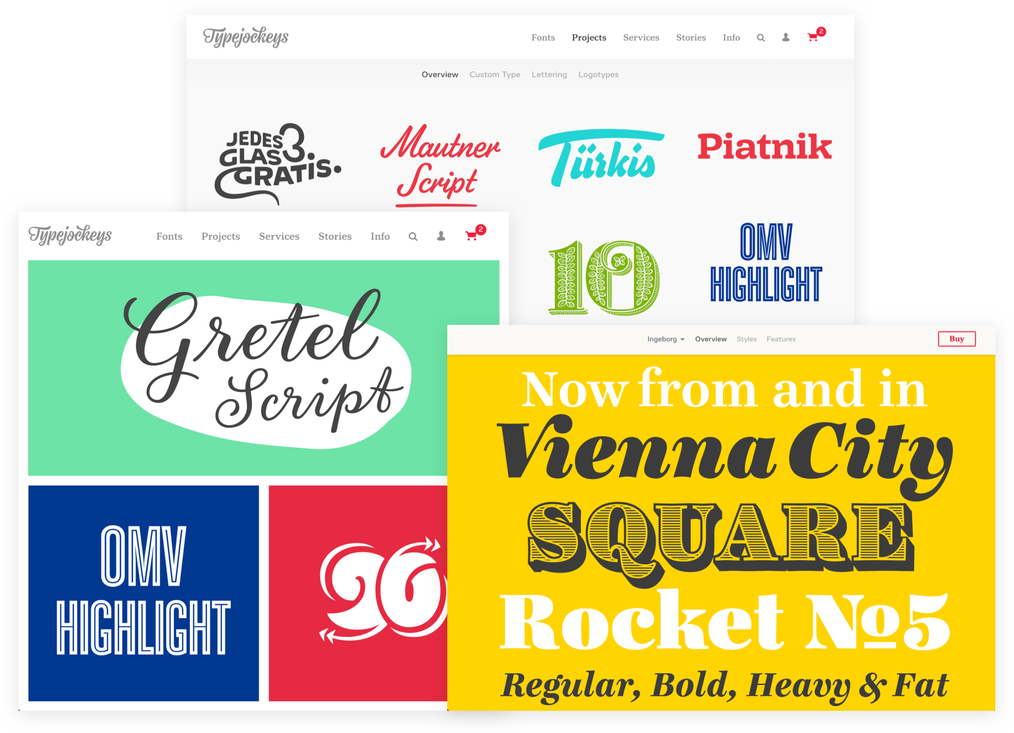 Typejockeys - Lettering & Type Design